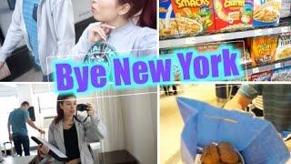 vlog in new york 15 dernier shopping bye nyc