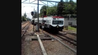 近江鉄道八日市駅にて田名部生来さんのパト電が入線する風景です。2012...