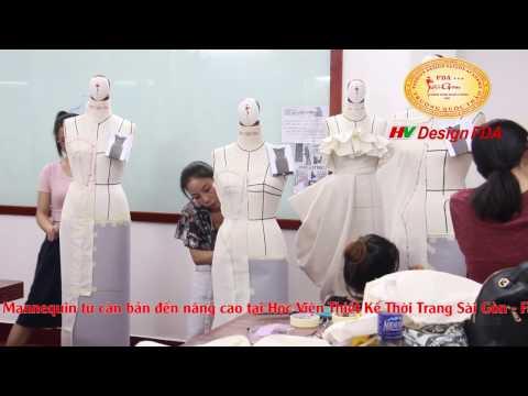 Dạy draping thời trang - Kỹ thuật rập 3D trên manocanh không cần công thức