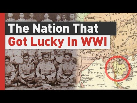 How Siam Fought WW1 Without Losing a Man In Battlefield | World War 1 Stories