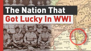 How Siam Fought WW1 Without Losing a Man On Battlefield