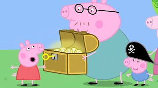 Peppa Pig Full Episodes |Peppa and George Looking For Treasure #76