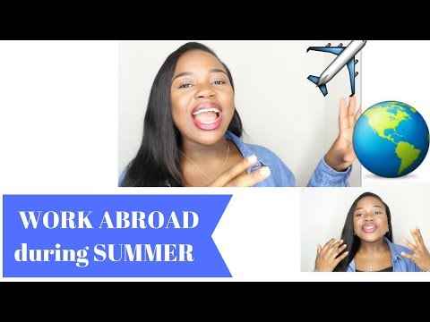 COSTS?  HOW TO GET WORK ABROAD | CAMP AMERICA | WORK EXPERIENCE  | MISSVARZ