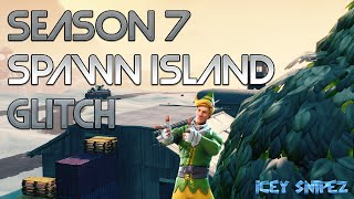 SPAWN ISLAND GLITCH | FORTNITE SEASON 7