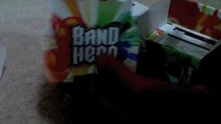 Band Hero DS Unboxing & Gameplay