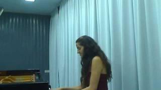 """Beethoven Piano Sonata No. 21 """"Waldstein"""": 3. Rondo: Allegretto moderato -ANAT NAVARRO."""
