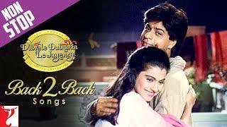 #20YearsOfDDLJ - Back2Back Songs : Dilwale Dulhania Le Jayenge - Shah Rukh Khan | Kajol