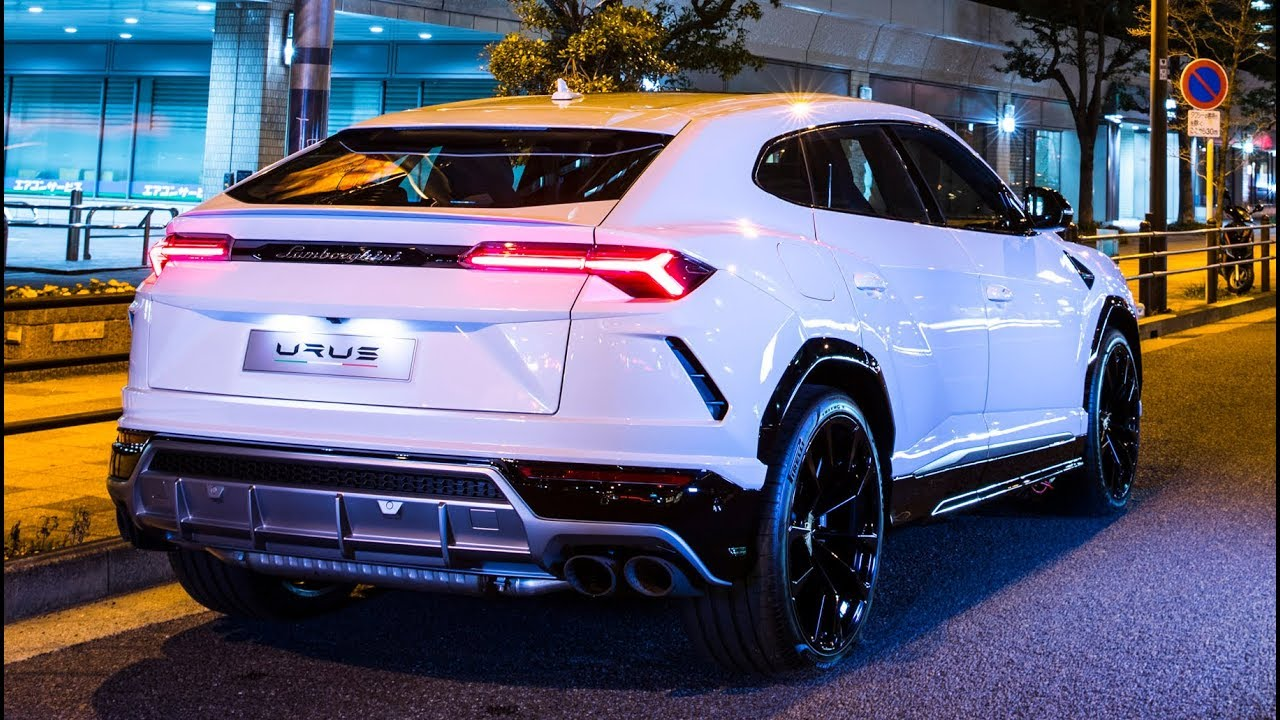 2019 Lamborghini Urus \u201cSuper SUV\u201d On The Street