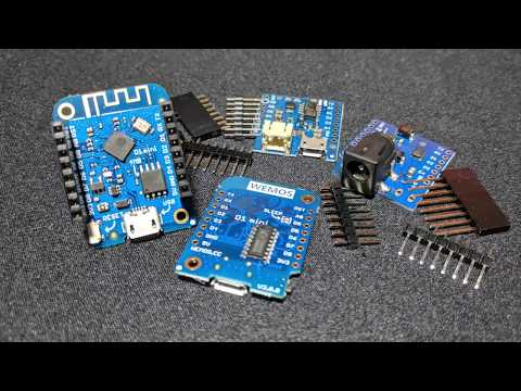 Video Tutorial: Flashing Micropython on a Wemos D1 Mini
