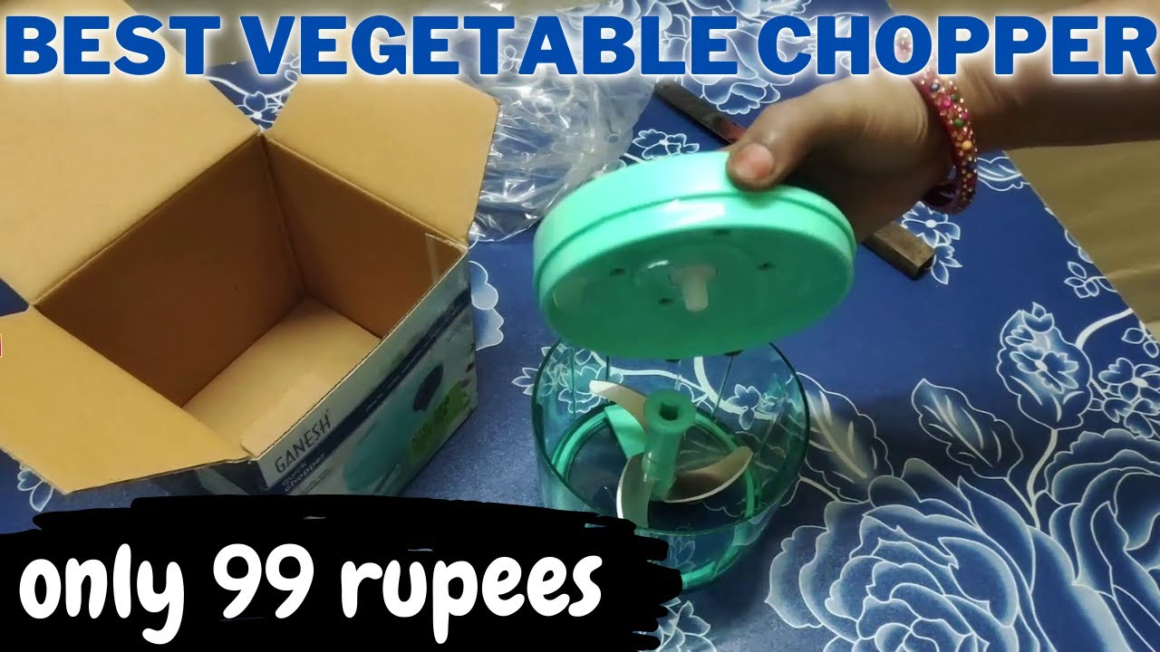 vegetable chopper review and unboxing | अच्छा है या बेकार  manual chopper for kitchen ganesh chopper