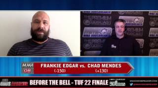 Before the Bell with Nick Kalikas and Frank Trigg - TUF 22 Finale