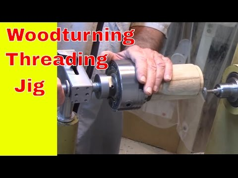 Threading Jig for Wood Threads - new model