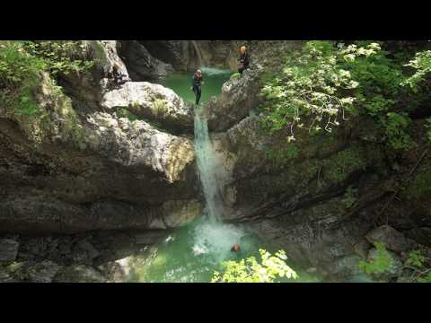 One of the most beautiful canyoning in Slovenia by LIFE Adventures, Bled