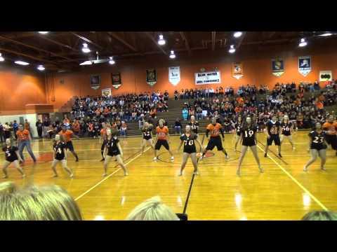 Almont H.S. Dance Team Pep-Rally