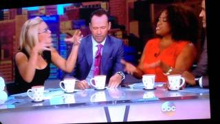 Donnie Wahlberg n Jon Knight talk NKOTB on The View