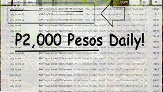 Paano Kumita sa Internet ng P2,000 Pesos Per Day! Wow!