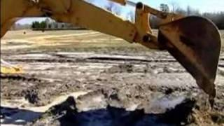 how to operate a backhoe how to operate the back boom on a backhoe
