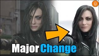 Thor Ragnarok MAJOR Scene Change Explained