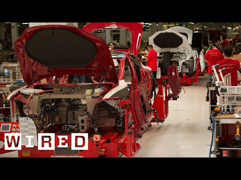 How The Tesla Model S Is Made | Tesla Motors Part 1 (WIRED)