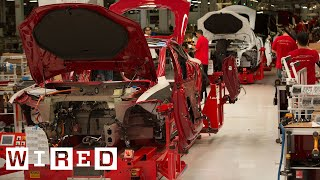 How the Tesla Model S is Made | Tesla Motors Part 1 (WIRED) thumbnail