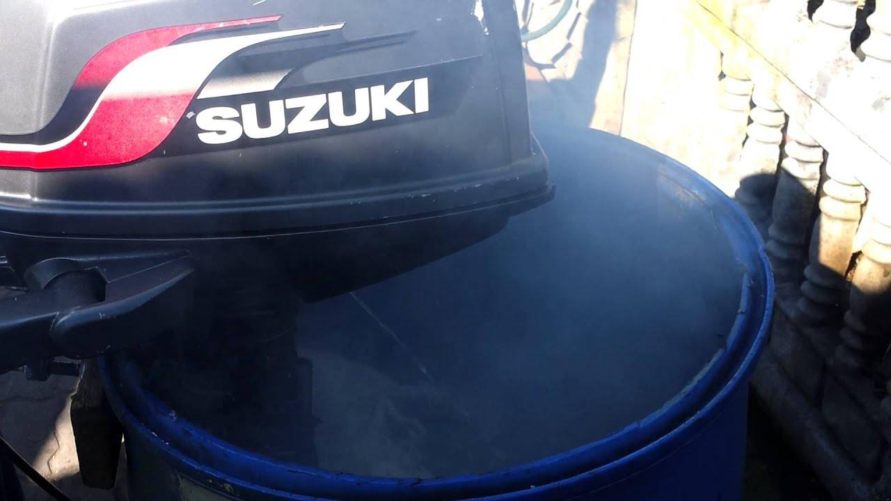 2001 Suzuki 6 Hp Outboard Motor 2 Stroke Dwusuw Youtube
