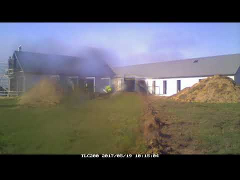 Straw Bale House - Build Time-lapse