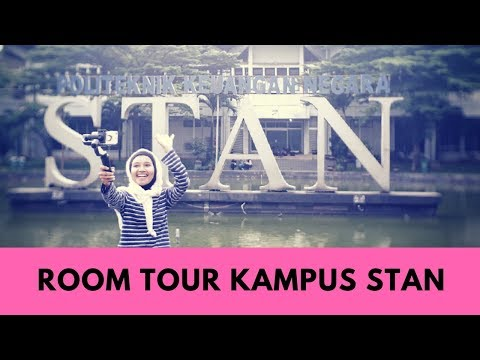 Room Tour Kampus PKN STAN - Inavlog 48