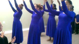 Take me to the king praise dance