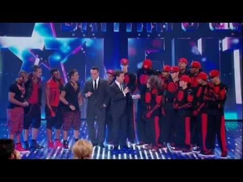 Diversity & JLS - Guest Appearance - Britain's Got Talent 2011