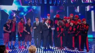 Diversity & JLS - Guest Appearance - Britain's Got Talent 2011