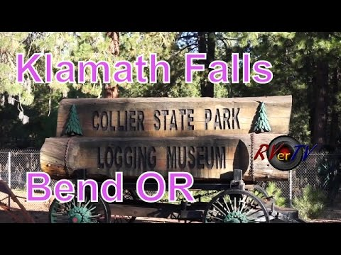 Klamath Falls...Bend Oregon...Casino...Tall Pines...US 97....RVerTV