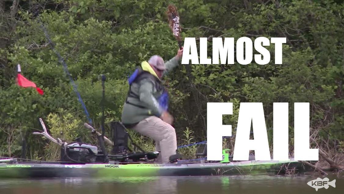 Kayak fishing virginia at briery creek and sandy river for Sandy river fishing report