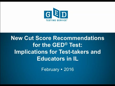 GED Testing Program in Illinois: A Closer Look at the Scoring Enhancements