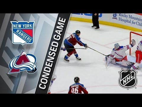 New York Rangers vs Colorado Avalanche – Jan. 20, 2018 | Game Highlights | NHL 2017/18. Обзор матча