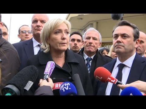 """Marine Le Pen affirme qu'il """"y a un lien"""" entre terrorisme et flux de migrants"""