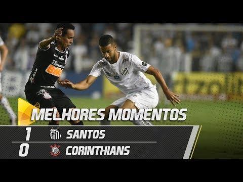 SANTOS 1 X 0 CORINTHIANS | MELHORES MOMENTOS | BRASILEIRÃO (12/06/19)