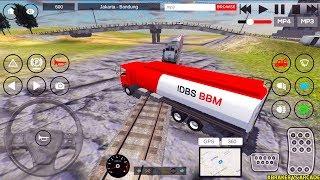 IDBS Indonesia Truck Simulator - New Gasoline Truck Unlocked - Truck and Train - Android Gameplay screenshot 5
