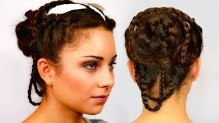 Katniss Everdeen Wedding Braided Updo - Become Gorgeous