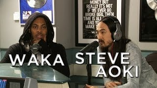 Waka Flocka & Steve Aoki stop by the Morning Show