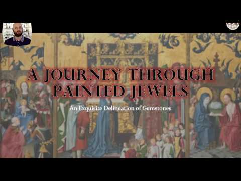 A Journey Through Painted Jewels - Justin K Prim - Webinar Talk Jewelry History Gemstones Gems 2020