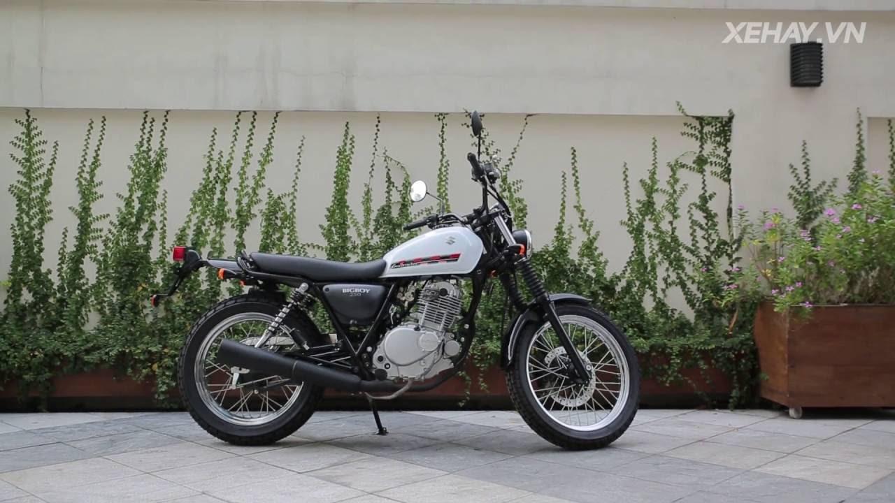 [XEHAY.VN] Chi tiết Suzuki Big Boy 250 cá tính tại Hà Nội