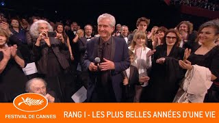 LES PLUS BELLES ANNEES DUNE VIE - Rang I - Cannes 2019 - VF