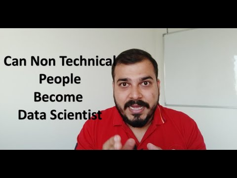 How Can A Non Technical Person Become Data Scientist
