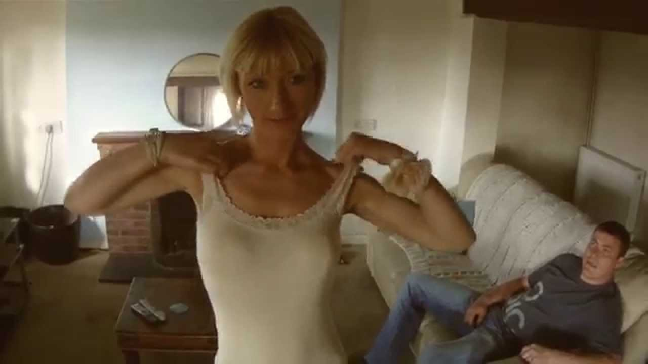 Mature blond with big tits