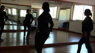 Instructional video for Radha Song from Student of the Year movie at Dancend