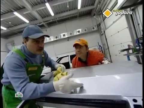 Способы удаления царапин (сколов) с кузова автомобиля
