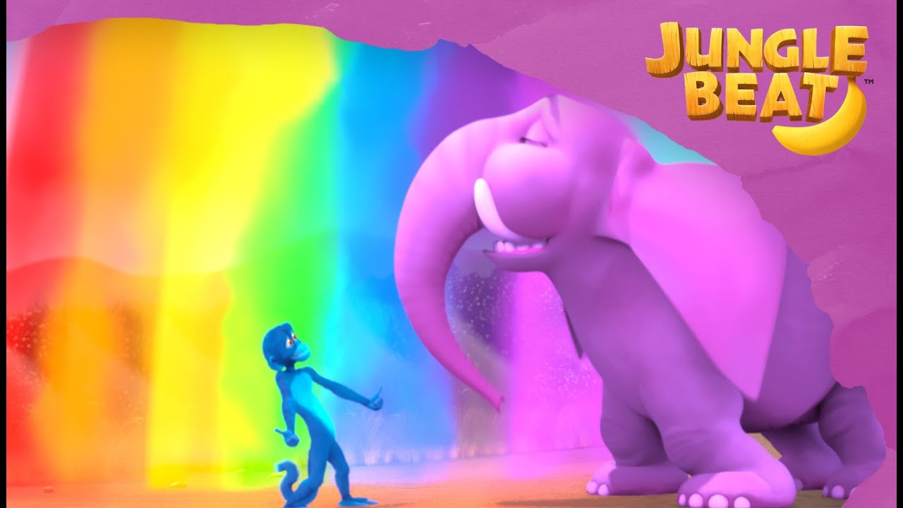 Jungle Beat: Munki and Trunk | Fun Compilation 4 | Kids Animation 2021