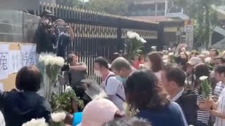 HK residents rallied to pay tribute to deceased 70 year old cleaner