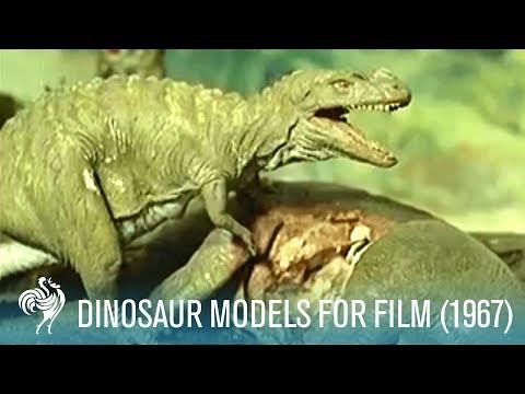 Prehistoric Horrors Aka Dinosaur Models For Film 1967  British Pathé