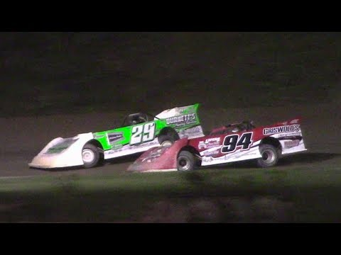 Topless RUSH Crate Late Model Feature | Genesee Speedway | 9-17-17